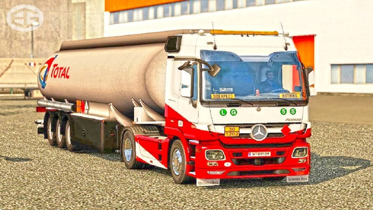 Mercedes Actros MP3 Reworked ETS2 (Euro Truck Simulator 2) by BINGH0ST