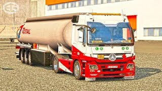 Mercedes Actros MP3 Reworked ETS2 Euro Truck Simulator 2