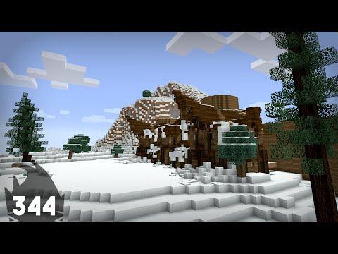 Minecraft Building w/ BdoubleO :: Custom Pine Trees! :: ep 344