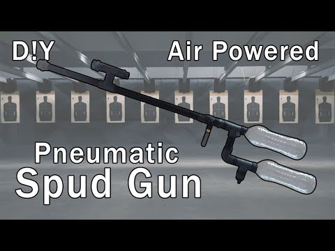 How to make a high power air gun