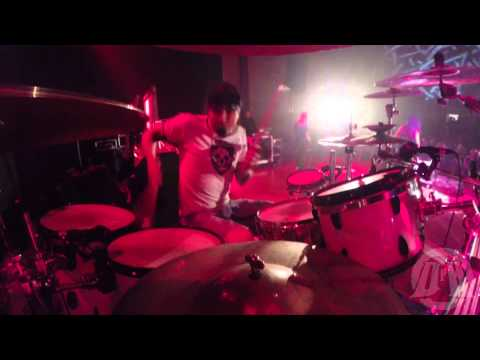 ACID DRINKERS@Anybody Home live at Sosnowiec-Poland 2014 (Drum Cam)