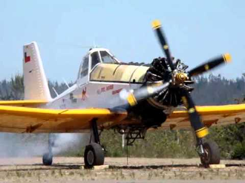 PZL M18B Dromader Starting up!
