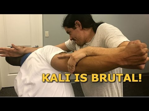 Destroy The Enemy! Kali Empty Hand Techniques