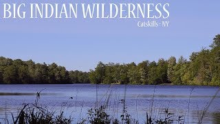 Big Indian Wilderness Tęnt Camping - Catskill Mountains NY Solo Backpacking Trip