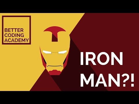 IRON MAN USING HTML AND CSS? - Impractical Projects #1