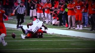 Danzel Mcdaniel Sr. K-State CB | Destroys Two Receivers vs UTSA 2015