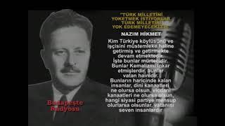 Nazım Hikmet - Türkiye'de kime mürteci derlerr, kime vatan haini derler?