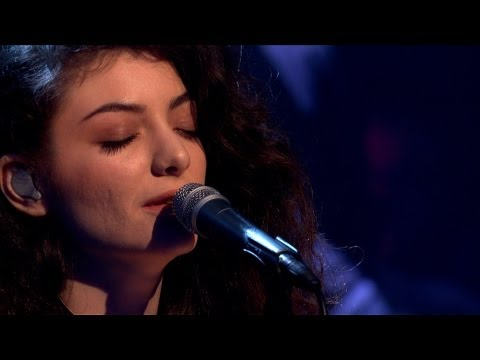 Lorde - Royals - Later... with Jools Holland - BBC Two