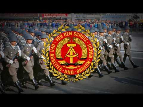"""German Democratic Republic (1949-1990) Military March """"Präsentiermarsch der NVA"""""""