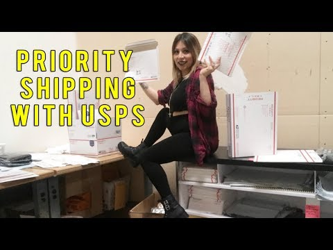 How to Ship a Package using USPS PRIORITY