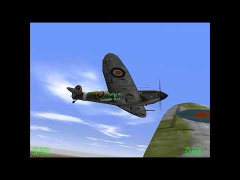 European Air War V1.2 (stock Version) Running On Windows 10 64-bit