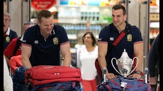 Back Home! Sam Warburton and John Spencer reflect on the Tour | Lions NZ 2017