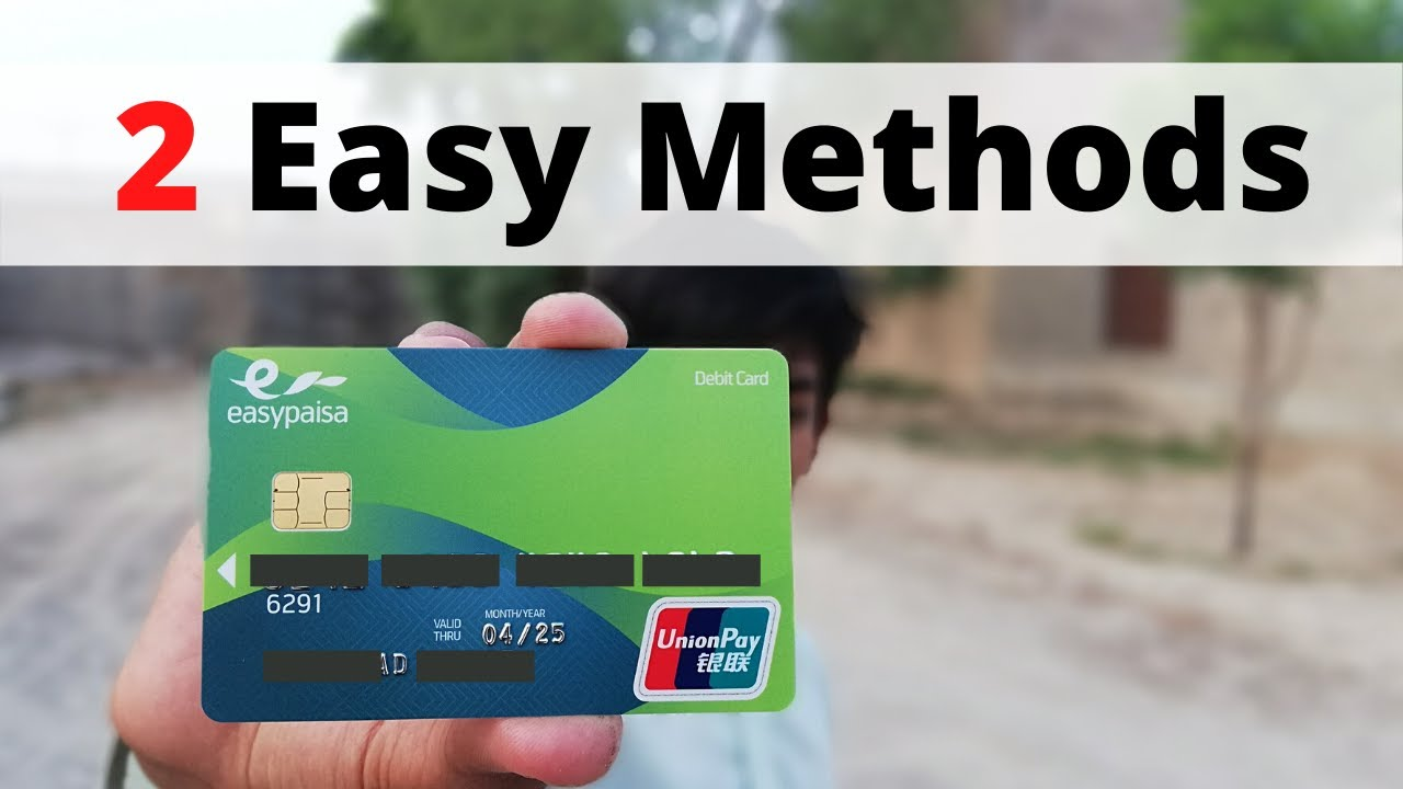 telenor atm card activation  2 easy methods for activate