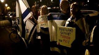 Stop haat tegen Israel/ debat in De Nieuwe Liefde Amsterdam