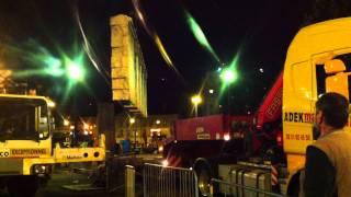 Déplacement du mur Royal de Luxe à Nantes