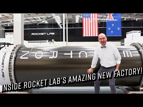 Exclusive look inside the world's newest rocket factory!