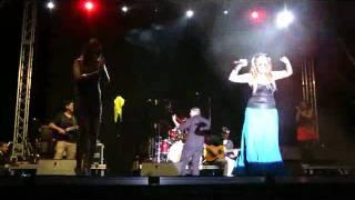 La Húngara y Laury (La Hungarilla) - A Mallorca (Móstoles) Madrid 09/09/2011