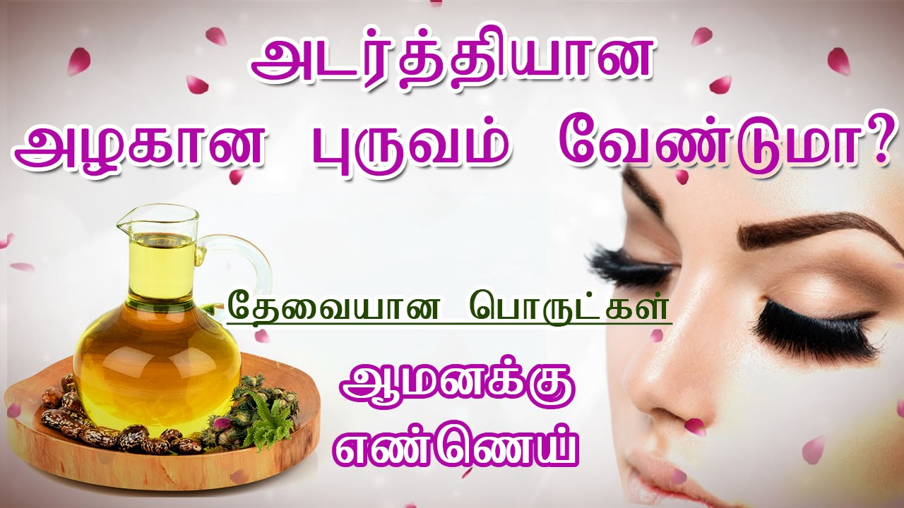 How To Get Thicker Eyebrows Naturally In Tamil How To Grow Your
