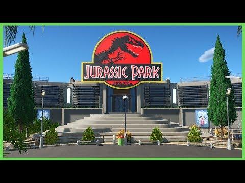 JURASSIC PARK! Park Spotlight 107 #PlanetCoaster