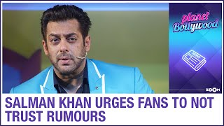 Salman Khan issues clarification on casting actors & urges fans to NOT trust rumours