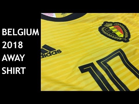 6e44f90f8a9 BELGIUM AWAY SHIRT 2018 WORLD CUP | UNBOXING | BELGIË UITSHIRT - YouTube