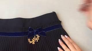 Школьная юбка для девочек Украина 1283. Обзор брендовой одежды для детей. Купить юбку для девочек