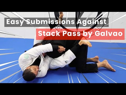 Easy Submissions Against Stack Pass - Andre Galvao