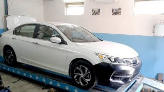 Honda Accord 9 USA. Рихтовка крыла. ФИНИШ.