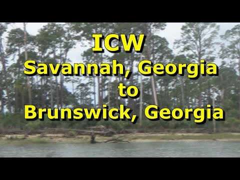 ICW (EP-12) Savannah Georgia To Brunswick Georgia, (Mike Haduck)
