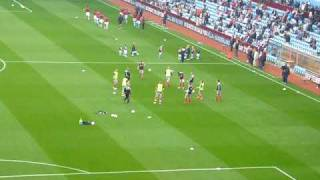Liverpool & Aston Villa Warm up
