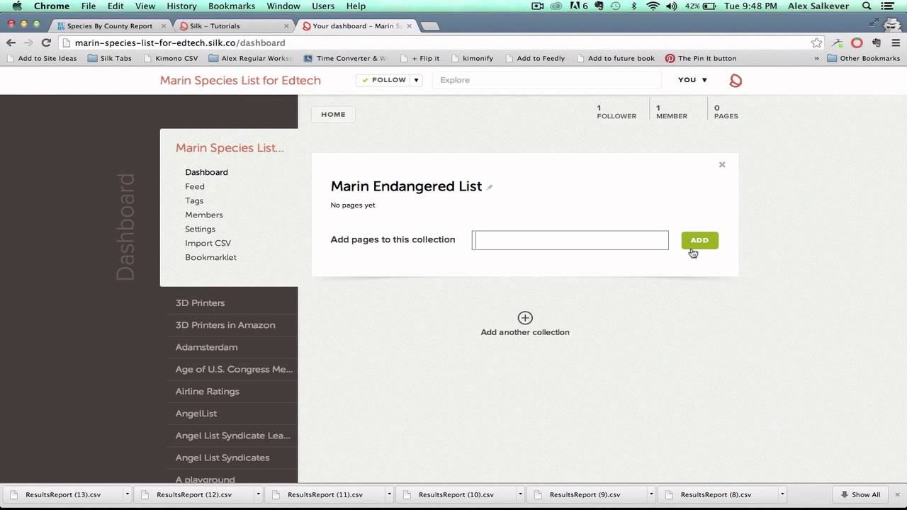 Create an interactive database for your class with Silk