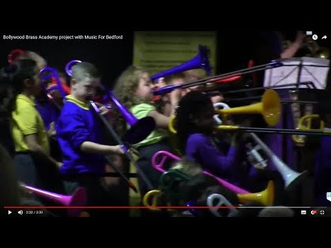 Bollywood Brass Academy project with Music For Bedford