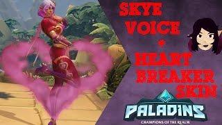 Paladins - Skye Voice Pack - Heartbreaker Skin