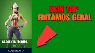 "Fortnite * NEW SKIN SARGENTA FRITURA * ""GENERAL FRY""!!! FT Zeloko, Pimenta and Macepede"