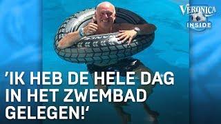 René van der Gijp over hittegolf: 'Hele dag in het zwembad gelegen'