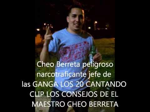 NARCOTRAFICANTE CHEO BERRETA CANTANDO