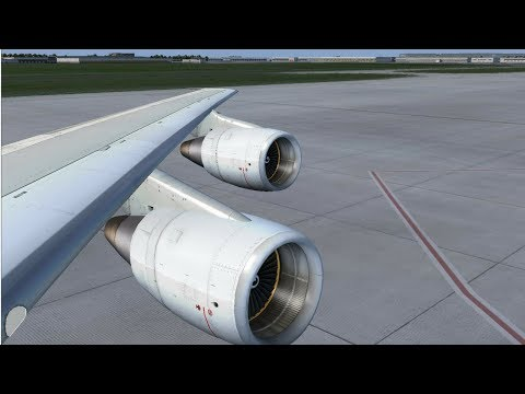 [FSX:SE] Paris - Edinburgh | Boeing 747-300F | Air France Cargo | ROAD TO 600!!!