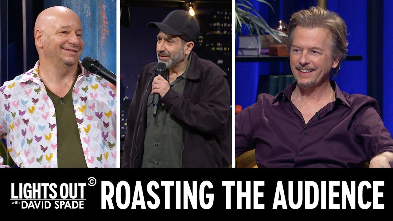 Jeff Ross and Dave Attell Do Crowd Work - Lights Out with David Spade