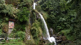Seven Sisters Waterfall In Sikkim India