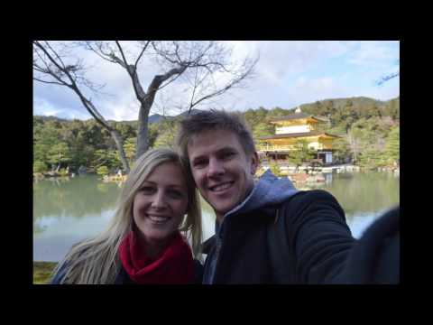 Chanelle and Hugh's Japan Holiday 2016/2017