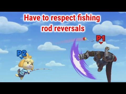 Have To Respect Fishing Rod Reversals