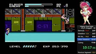 Mighty Final Fight (Haggar) Speedrun 17:01