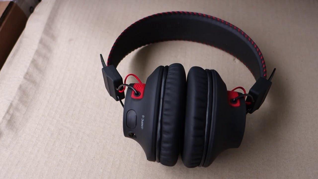 524b447434c Avantree Audition Deep Bass Over Ear Bluetooth Headphones - YouTube