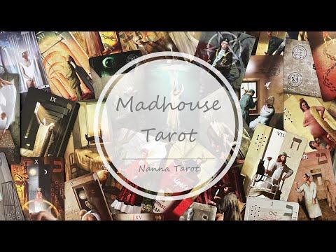 開箱  瘋人院塔羅牌 • Madhouse Tarot // Nanna Tarot
