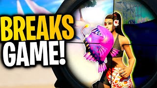 What Happens When You EAT A THERMAL FISH Then Use THERMAL SCOPE? | Fortnite Mythbusters