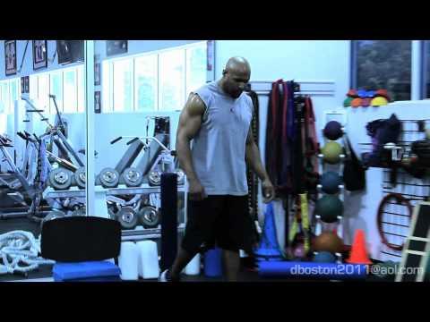 NFL Combine Workout - Ladder Drill