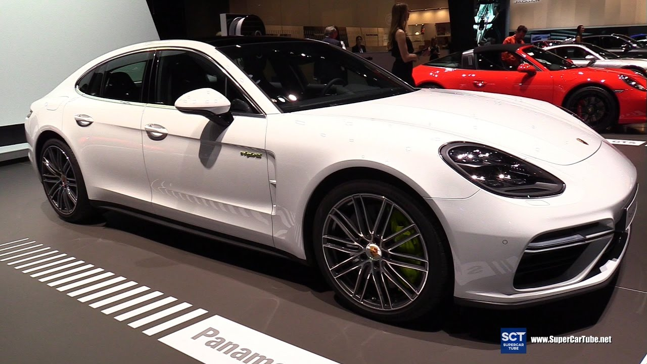2017 Porsche Panamera Turbo S E Hybrid Exterior And Interior Walkaround New York Auto Show