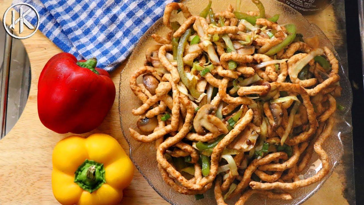 Keto Wedding Cake Recipe: Keto Hakka Noodles (Meat Noodles)