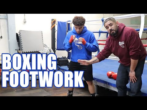 FOOTWORK FOR BOXING