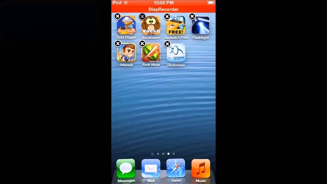How To Delete Apps In Ios 6 (ipod Touch Iphone Ipad)